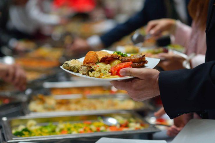 Catering imprezy firmowe nieodpłatny przychód