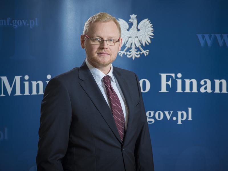 Wiceminister Finansów Paweł Gruza Ministerstwo
